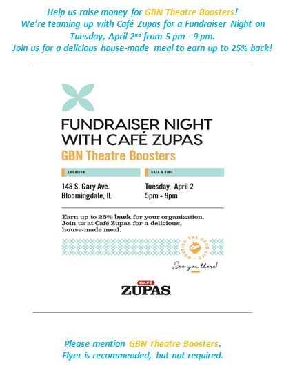 GBN Theatre Boosters Family Night-Cafe Zupas 2019-04-02 v1